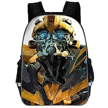XMTIHE Boys Girls Transformers Backpack Bookbag-Back to School Backpack Kids Travel Bag Bumblebee,Optimus Prime