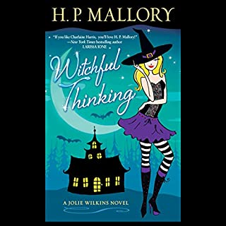 Witchful Thinking audiobook cover art