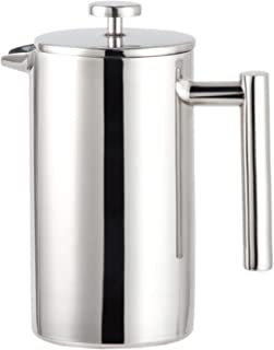 KU Syang 1000Ml French Press Coffee Maker,Double Walled Insulated Coffee & Tea Brewer Pot & Maker Keeps Brewed Coffee or T...