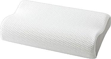 アイリスプラザ 枕 低反発 硬さが変わらない スラブウレタン使用 年中使える 3Dカット加工 通気性 S字カーブ フィット感 メッシュ素材 洗えるカバー