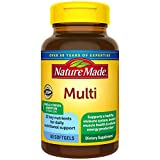 Nature Made Multivitamin Softgels with Vitamin D3 and Iron, 60 Count