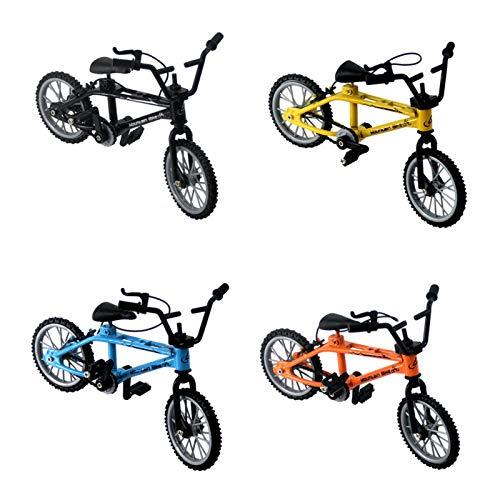 4 Stück Finger Fahrrad Mini Bike Spielzeug Mountainbike Modell Ornamente, Bike Gadgets Finger Scooter Set Spiel Geschenke Für Party Gefallen