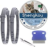 Flea and Tick Collar for Cat, Made with Natural Plant Based...