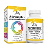 Terry Naturally Adrenaplex - 60 Capsules - Maximum Adrenal Support Supplement, Promotes Daily Energy, Mental Focus & Physical Endurance - Non-GMO, Gluten-Free - 30 Servings