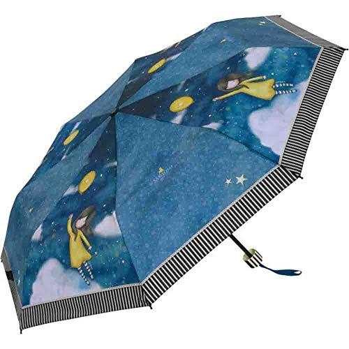 Paraguas Manual Plegable Gorjuss The Globe