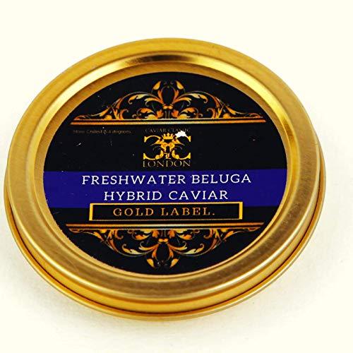 125 gr. Caviale ibrido d'acqua dolce Beluga Oro. corriere espresso €8-12
