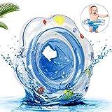 ASANMU Baby Schwimmring, Baby Schwimmen Ring Schwimmring Baby Schwimmsitz Baby Schwimmhilfe mit Schwimmsitz PVC Aufblasbarer Schwimmsitz Baby Float Ring Schwimmtrainer für Kinder ab 6 Monaten