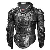 Chaleco antibalas profesional, ATV Camisa de protección Chaqueta Anti-caída Montar al aire libre Motocross Motocicleta Ciclismo de montaña Patinaje Snowboard Protector de la columna vertebral,M