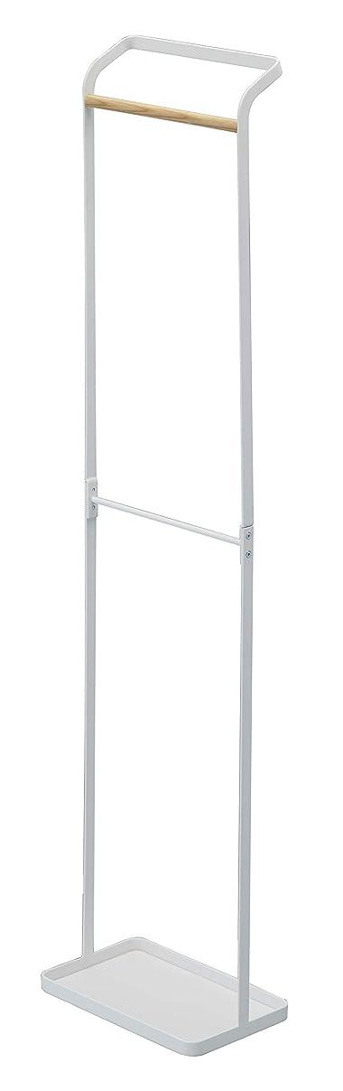 図構築する肥満山崎実業(Yamazaki) 傘立て 玄関収納 引っ掛けアンブレラスタンド タワー ホワイト 約W25XD15XH105cm tower 3862