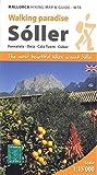 Sóller, Walking Paradise. Fornalutx, Deià, Cala Cuen, Cúber, Walking Map. Escale 1:15.000. Editorial Alpina.