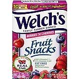 Welch's Fruit Snacks Berries & Cherries .9 oz. (80 count)