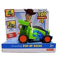 TOYSTORY4 トイストーリー4 RC ウッディ ポップアップ レーサー ミニカー 玩具 おもちゃ フィギュア フィッシャープライス トイストーリー グッズ
