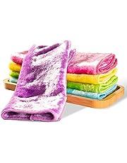 雑巾 ふきん ぞうきん 吸水クロス キッチンタオル 油汚れ 大掃除 5枚入