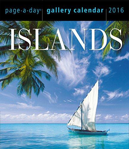 Islands 2016 Gallery Calendar (2016 Calendar)