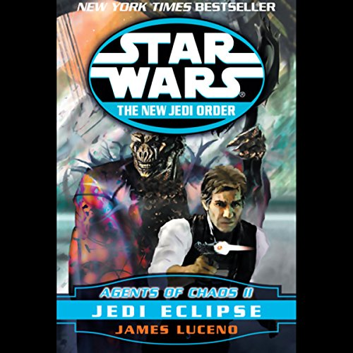 Star Wars: The New Jedi Order: Agents of Chaos II: Jedi Eclipse                   By:                                                                                                                                 James Luceno                               Narrated by:                                                                                                                                 Anthony Heald                      Length: 3 hrs and 15 mins     261 ratings     Overall 4.3