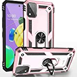 CoverON Ring Designed for LG K53 Phone Case, Rugged Cover