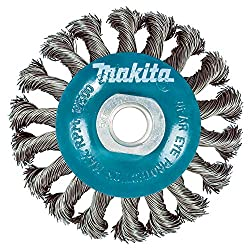 Makita 4 Inch Knotted Twist Wire Wheel Brush