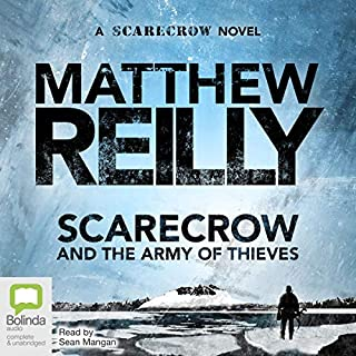 Scarecrow and the Army of Thieves audiobook cover art