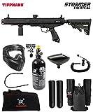 Maddog Tippmann Stormer Tactical Private HPA Paintball Gun Marker Starter Package - Black