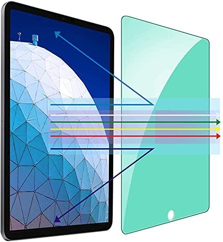 Kinmiee Protection oculaire contre la lumière verte Protecteur d'écran Compatible avec iPad Mini 5 2019 et iPad Mini 4 (7,9 pouces) Film en verre trempé HD anti-lumière bleue, anti-UV, anti-rayures