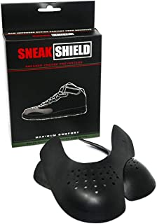 SNEAK SHIELD Sneaker Crease Protector for Shoes Mens 8-12 Black