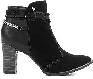 Bota Feminina Mississipi Ankle Boot Preta Q0291