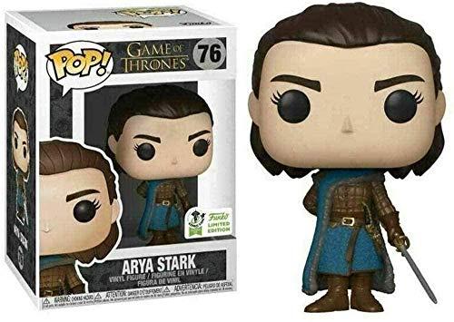 PANBLICA Pop Vinyl Game DE Trones Pop Figura: Arya Stark Adornos en Caja de Vinilo Coleccionable Figura 10 cm