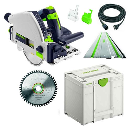 Festool, TS 55 RQ Plus FS, nr. 712634 + HW HM zaagblad, in Systainer