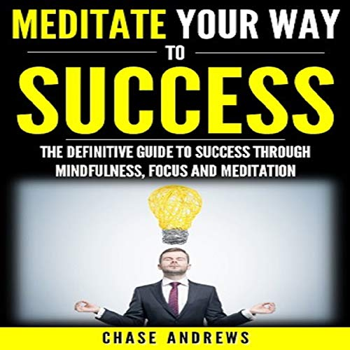 Meditate Your Way to Success: The Definitive Guide to Mindfulness, Focus and Meditation audiobook cover art