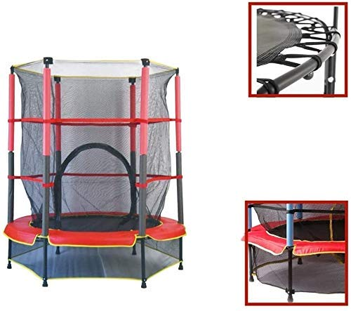 LuoMei Large 5Ft Folding Rebounder Kids Small Trampoline Suitable for Kids Outdoor Indoor Fun Activities