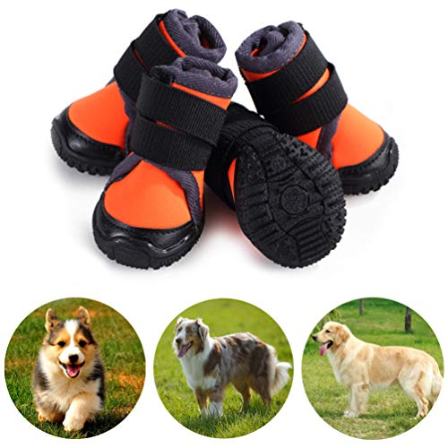 Petilleur Breathable Dog Hiking Shoes