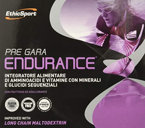 EthicSport - Pre gara Endurance - Confezione da 20 x 19 gr - Integratore alimentare di...