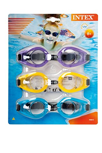 Intex Play Goggles Multicolored 3-Pack (Colors May Vary)