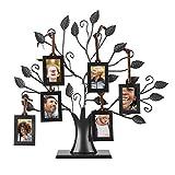 6 Ciondoli per Foto Albero della Famiglia Albero Genealogico Cornice Portafoto Cornice con Motivo Alberi da Appendere Tavolo Decorativo per la Foto Cornice Portafoto a Forma di Albero Genealogico
