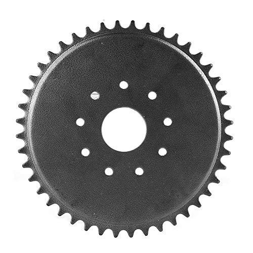 Rockyin 9 agujero 44 dientes piñón de la cadena de 49cc 66cc 80cc motor motorizado de bicicletas