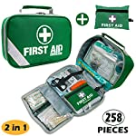 2 in 1 Large First Aid Kit for Home, Car, Camping, Office, Boat, and Traveling 94