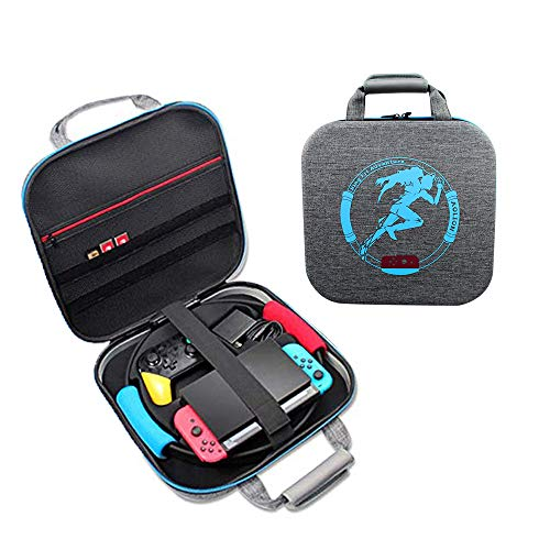Carrying Case for Nintendo Switch Ring Fit Adventure Ring-Con Handbag,CLarge Shockproof Bag...