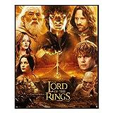 Paladone- Lord of The Rings Rompecabezas del Señor de los Anillos. (PP7632LR)