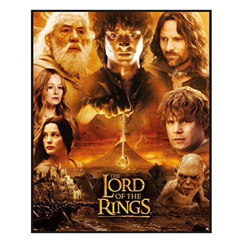 Paladone- Lord of The Rings Rompecabezas de El Señor de los Anillos (PP7632LR)