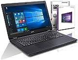 Acer ES1 (17,3 Zoll) Notebook (Intel N3700 Quad Core 4x2.40 GHz, 8GB RAM, 1000 GB, Intel HD Graphic, HDMI, Webcam, USB 3.0, WLAN, DVD-Brenner, Windows 10 Professional 64-Bit) #4982