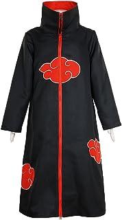 CG Costume Men`s Akatsuki Itachi Uchiha Cloak Uniform Cosplay Costume
