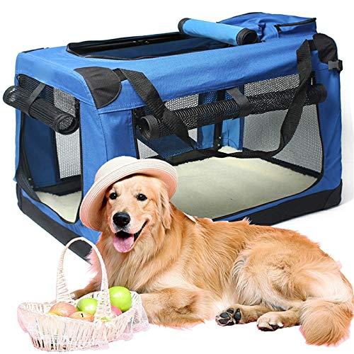Hond autostoel voor huisdieren, waterdichte hond autostoelbekleding, slijtvast hond stoelbekleding hondenautodeken, universeel design voor alle auto's, vrachtwagens SUV Blue-XS.