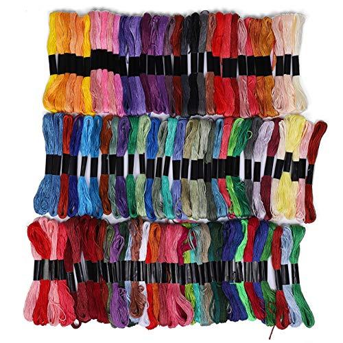 Hilo de coser de nuevo estilo Hilo de bordar de rayón para costura DIY para el hogar para máquina de coser
