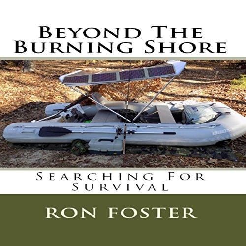 Beyond the Burning Shore: Searching for Survival audiobook cover art
