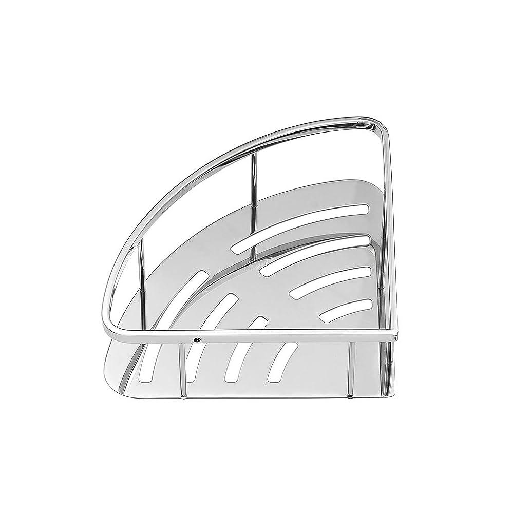 スキー家禽素人ダブル棚棚スタイリッシュでシンプルなホテル家庭用バスルームキッチン壁のシャワールーム多機能三角形メッシュ厚みのバスケット