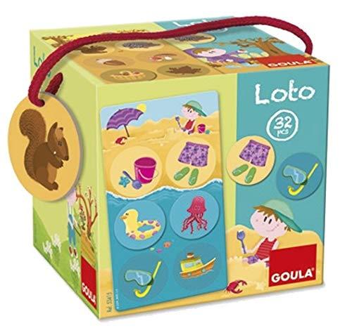 Goula - Loto estaciones, 32 piezas (Diset 53415) , color/modelo surtido