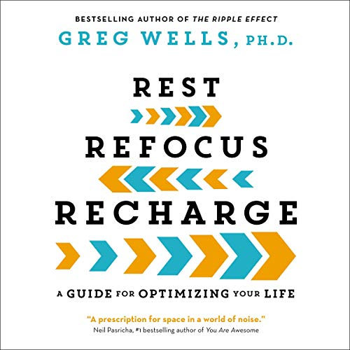 Rest, Refocus, Recharge  By  cover art