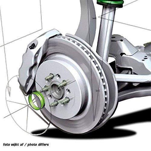 Set Cubo de rueda TPI/ /Verde /Anillos 63.3-57.1/mm/