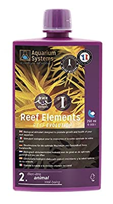 Aquarium Systems Reef Evolution Reef Elements Stimulant Biologique pour Aquariophilie 250 ML