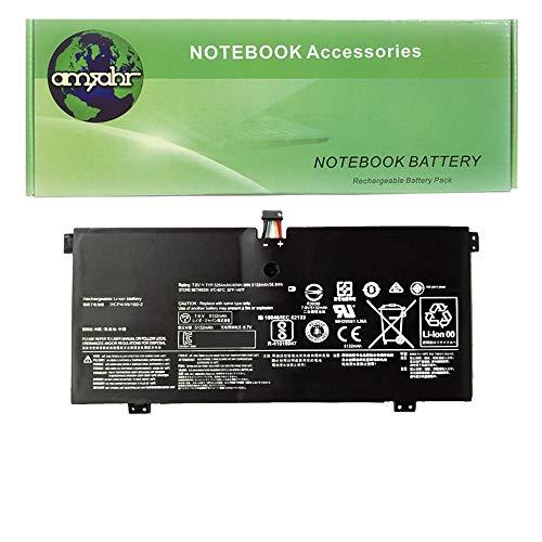 Amsahr L15L4PC1-05 - Batería de reemplazo para Lenovo L15L4PC1, IdeaPad 100-15, Yoga7107 (Incluye Mini ratón óptico) Color Gris
